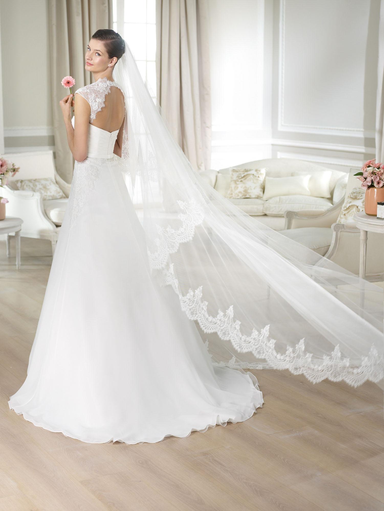 Modello Jabin  Abiti da sposa W1 White One 2014  Salem Spose