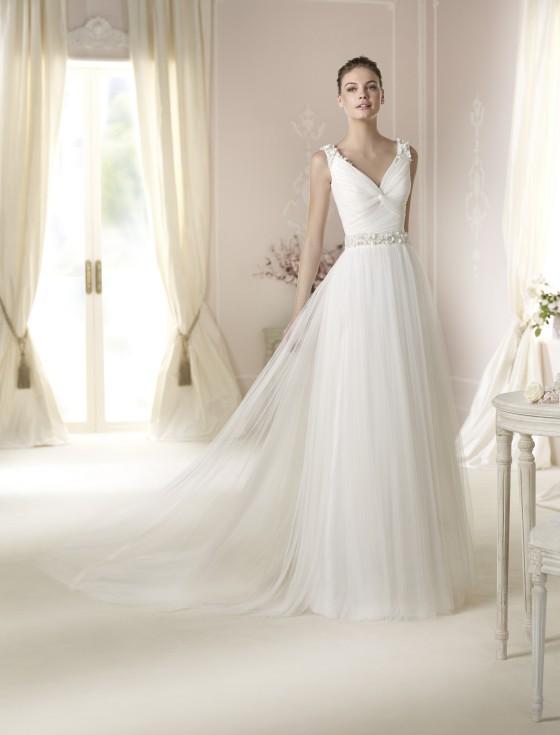 Modello Dalina  Abiti da sposa W1 White One 2015  Salem Spose