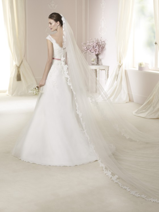 Modello Danica  Abiti da sposa W1 White One 2015  Salem Spose