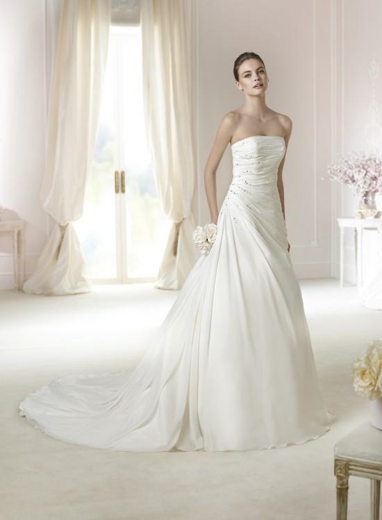 Modello Teresa  Abiti da sposa W1 White One 2015  Salem Spose