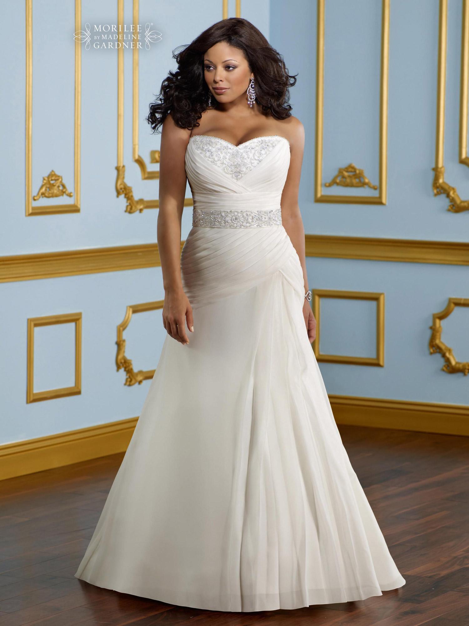 Свадебные платья для пышногрудых