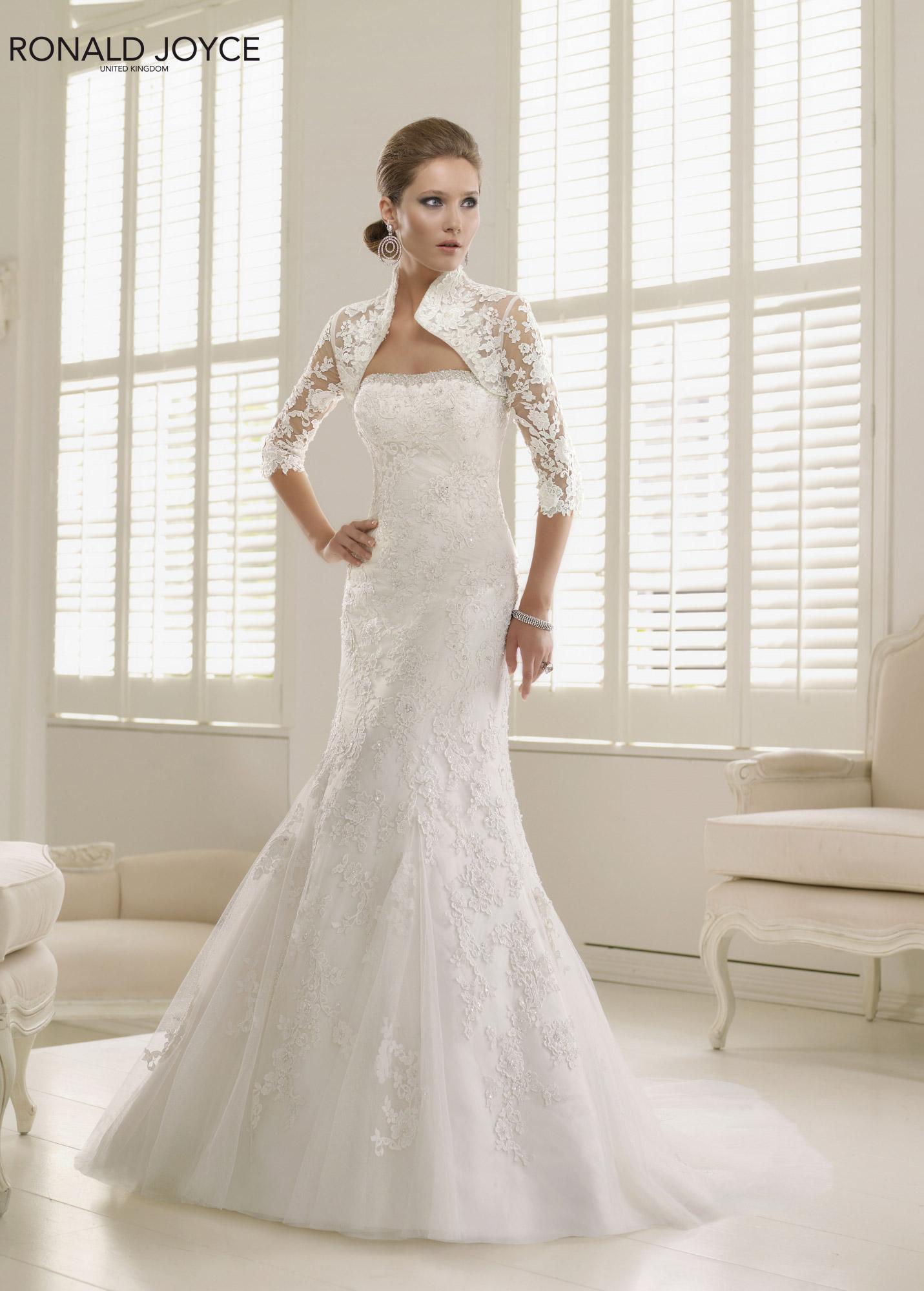 Abiti da sposa 2014 ronald joyce roma salem spose for Wedding dress in paris
